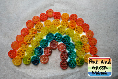 Rainbow Noodle Craft