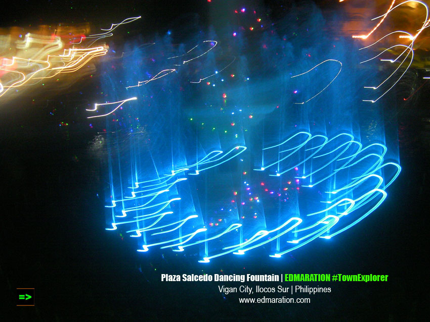 Vigan Dancing Fountain at Plaza Salcedo