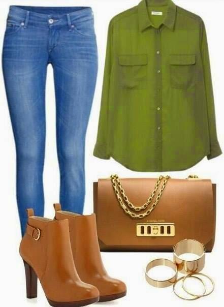 Blue Jean, shirt, shoes, Bag