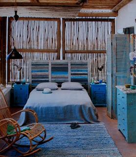 Habitacion Con Muebles Reciclados, Madera Reciclada