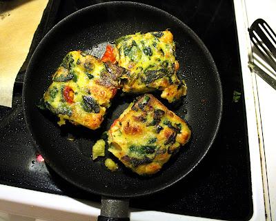 Oppskrift Eggfri Omelett Uten Egg Hvordan Steke Polenta