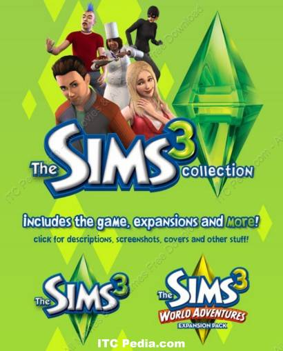 The Sims ™ 3 Collection 18 + Store Blu-ray (2009-2013/MULTi2/RePack by S.Balykov)