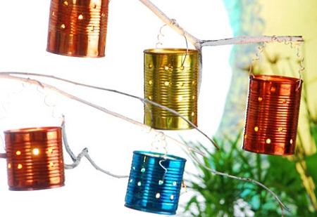 Econotas.com: candelabros reciclados para navidad, ideas simples y ...