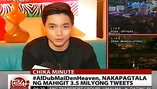 Alden Richards thanks all the fans of AlDub on this record setting tweets