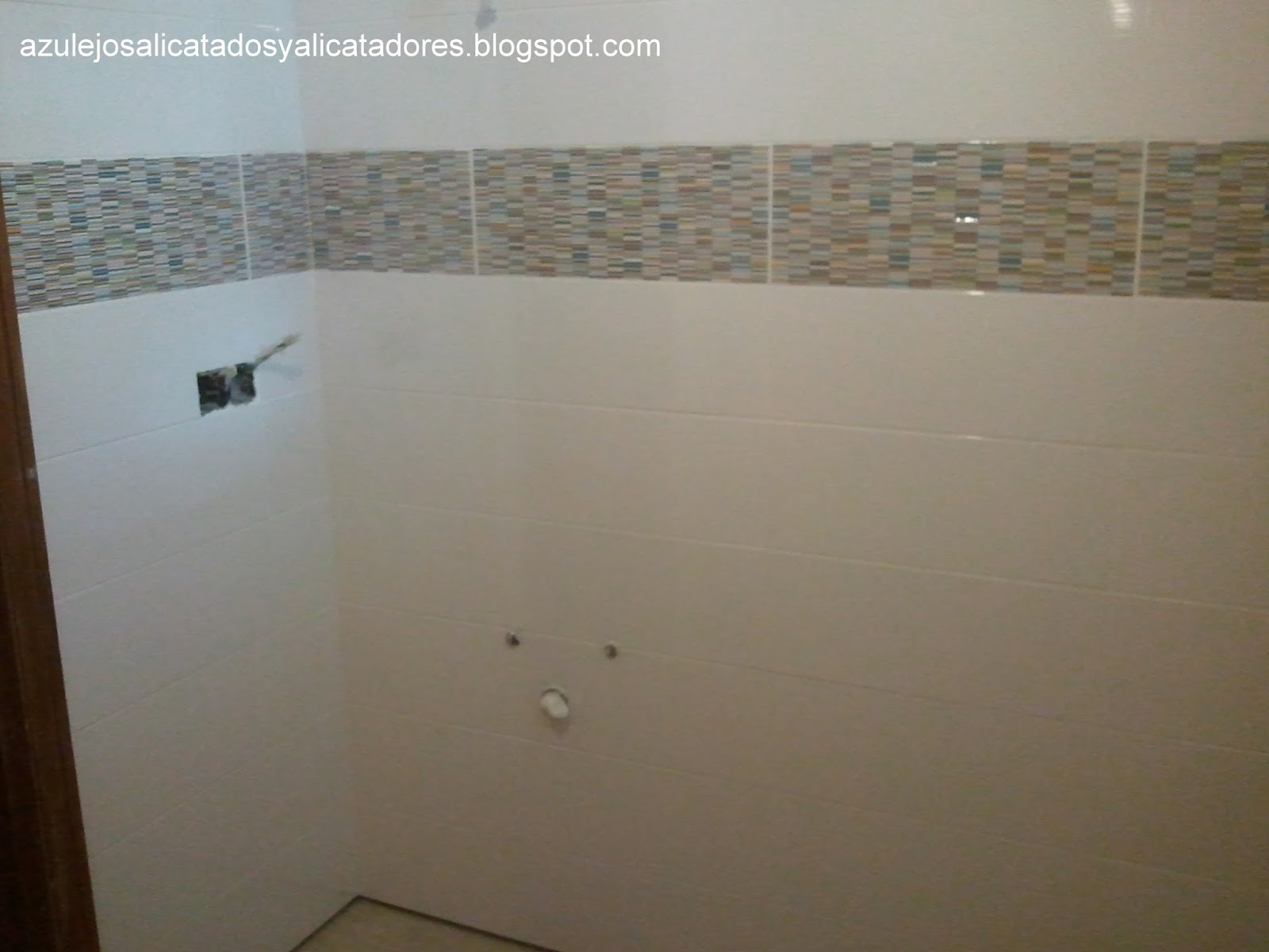 Azulejos alicatados y alicatadores grupo puma for Lechada azulejos bano