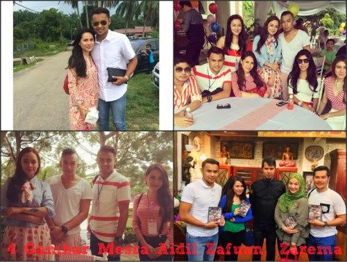 4 Gambar Mesra Aidil Zafuan & Zarema