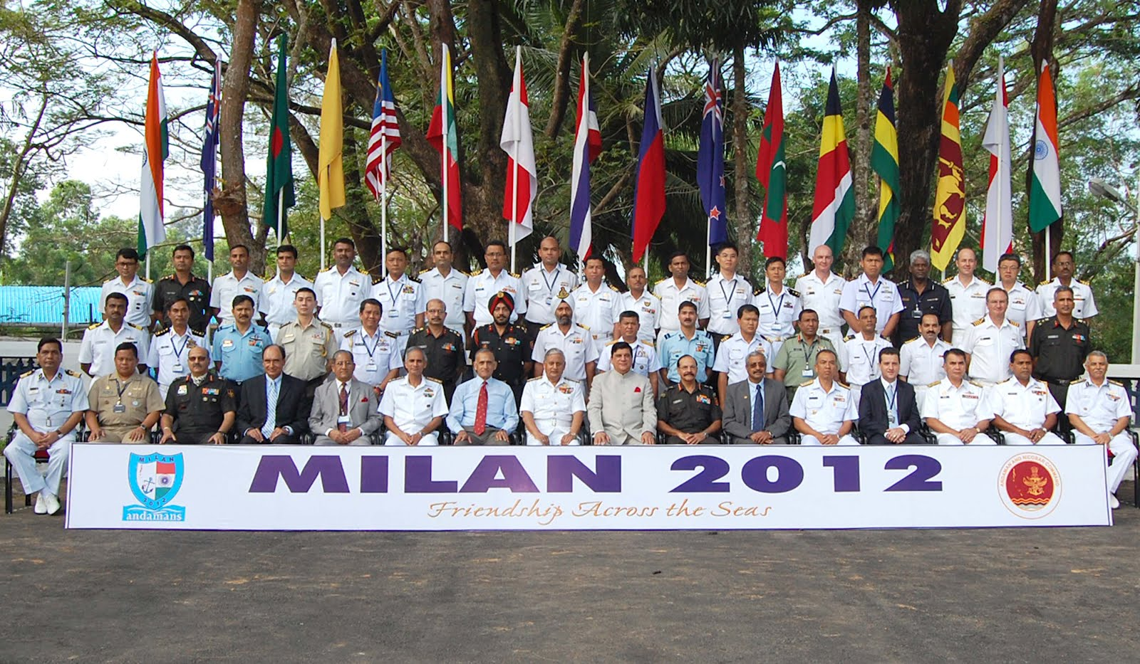 Indian Navy stages Milan 2012 naval exercise with 14+ countries ...