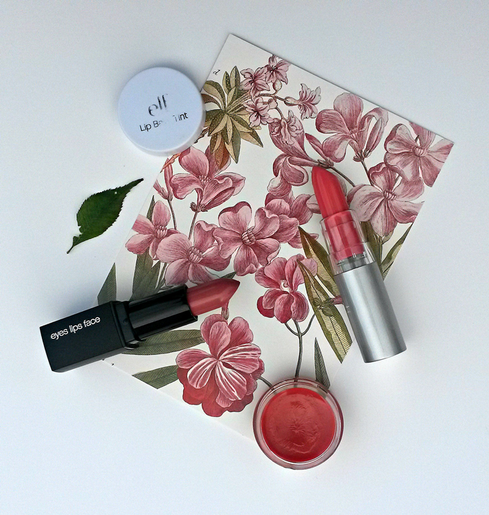 elf essential lipstick, moisturising lipstick and lip tint review
