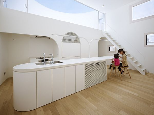 Dapur Gaya Arsitektur Hunian Minimalis Di Jepang