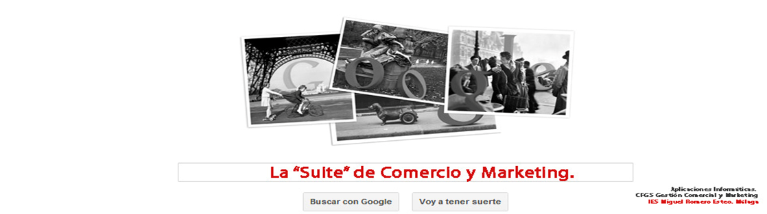 "La ""Suite"" de Comercio y Marketing."