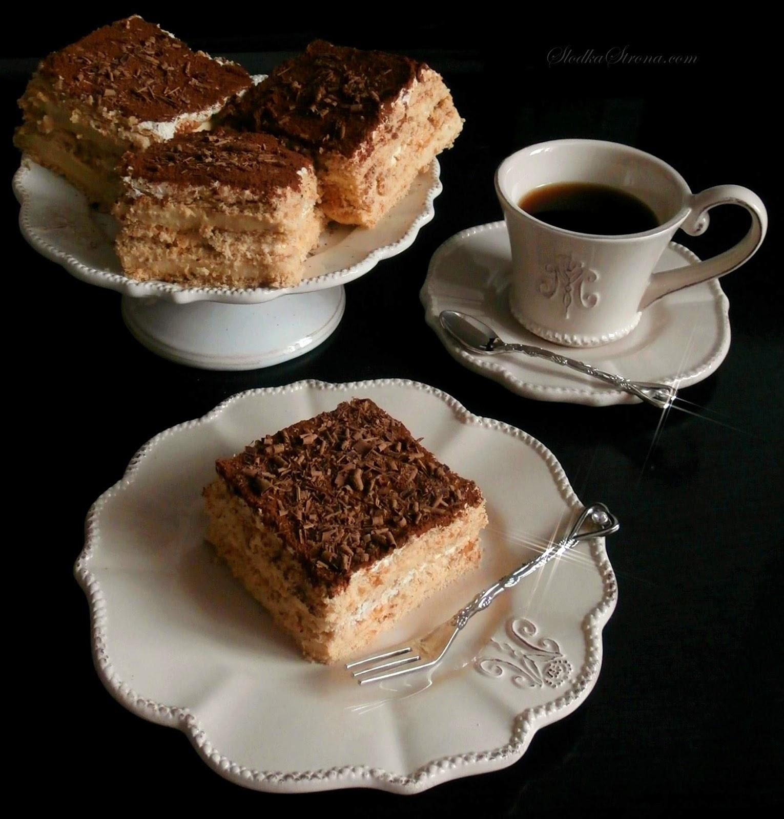 Ciasto Cappuccino (bez pieczenia)