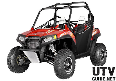 Polaris RZR S 800 EPS Sunset Red