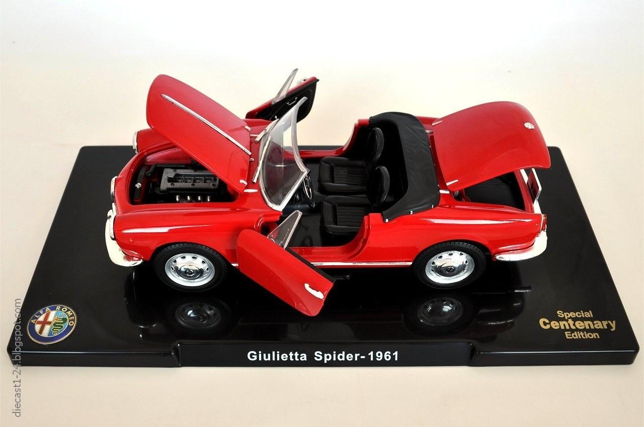 Modellino alfa romeo giulietta 2010 9