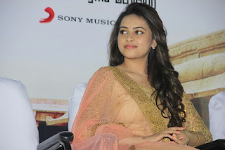 Sri Diya Looks cute in brown anarkali suit with light pink Dupatta at a movue audio Release function