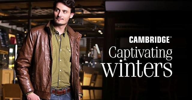 Cambridge Captivating Winter 2013-14 Osman Khalid butt & Sadia khan