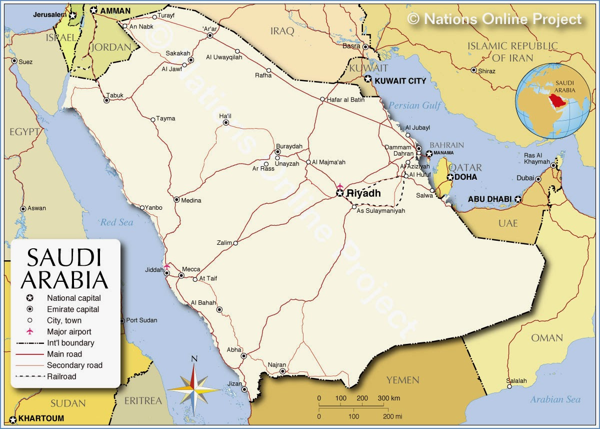 Lets Nailed The World Saudi Arabia The Land Of The Two Holy Masjids - Where is riyadh