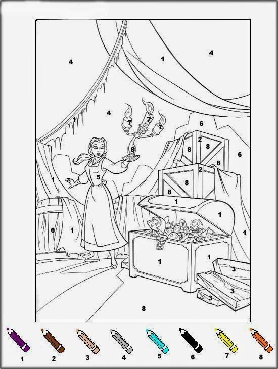 Bougie coloriages magiques la belle et la bete imprimer - Coloriage reine des neiges a imprimer gratuit ...