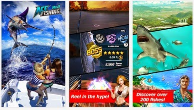 Game Memancing Ace Fishing APK Mod