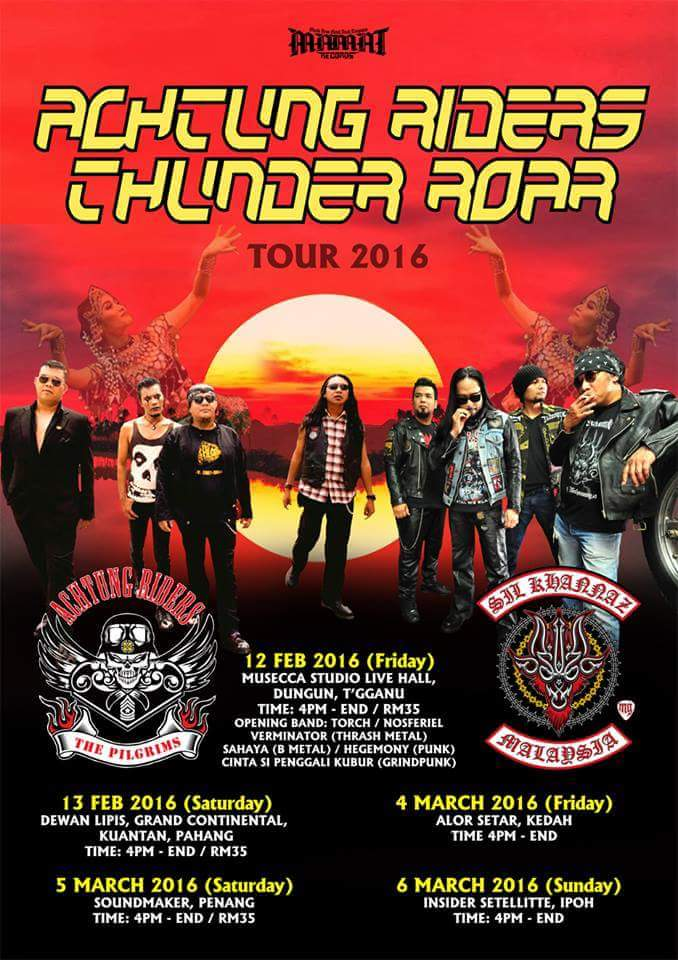 Event Achtung Rider Thunder Roar Tour 2016