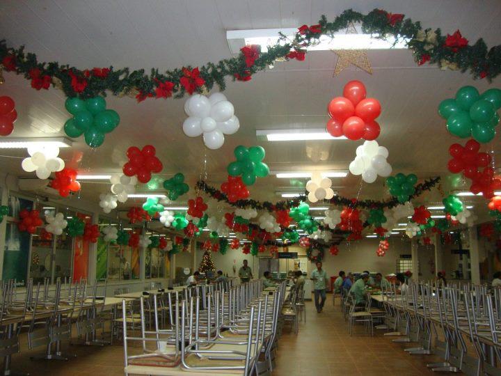 decoracao festa natal:Rosi Festas e Eventos: Confraternização de Natal da Hydru