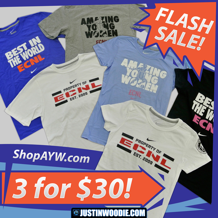 ShopAYW.com T-Shirt Sale Banner Graphic Design