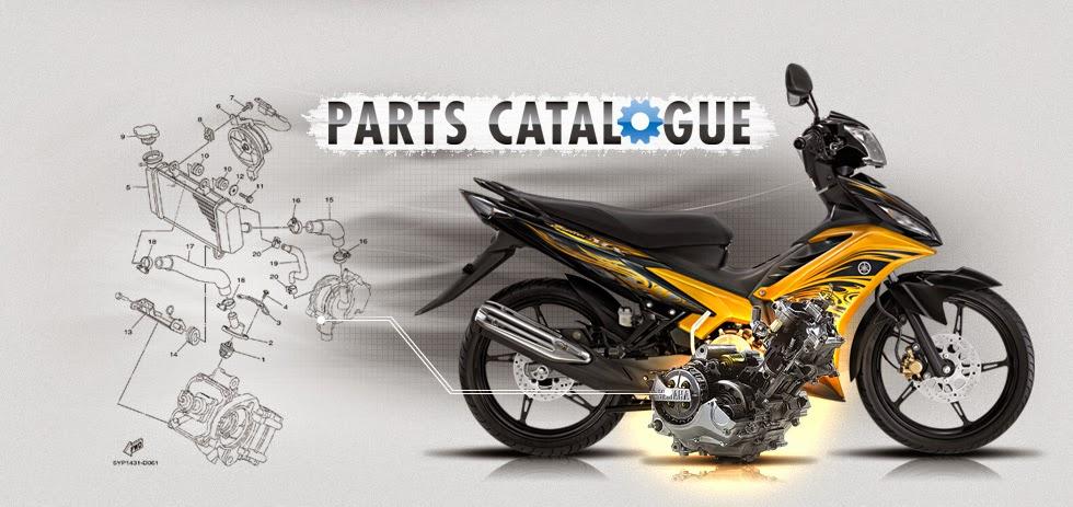 Daftar Lengkap Harga Onderdil Motor Yamaha Asli Terbaru 2014