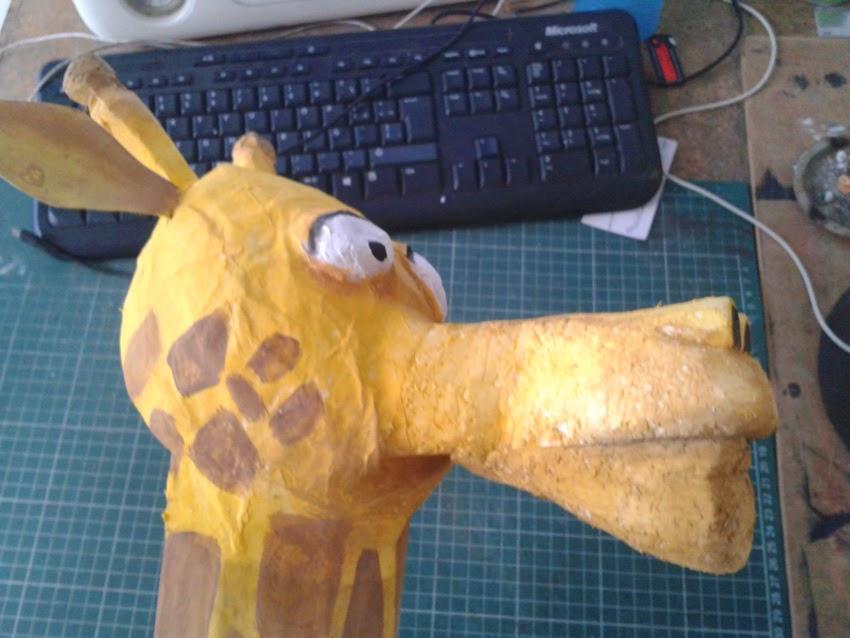 Mascara jirafa