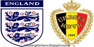 Skor Akhir Inggris vs Belgia | Hasil Pertandingan Persahabatan Sabtu 2 Juni 2012