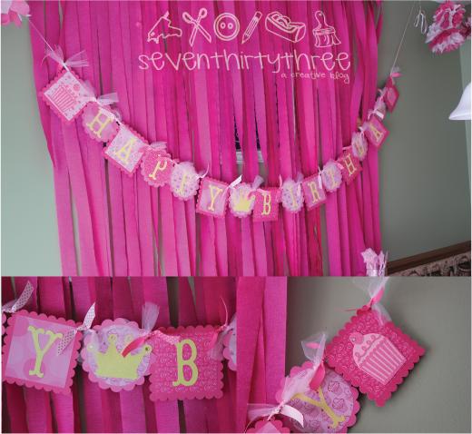 Olivias Pinkalicious Birthday Party