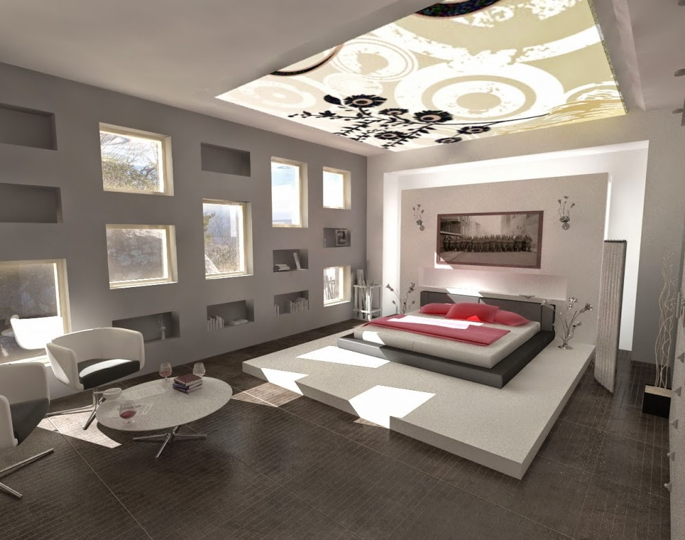 Stylish Pop False Ceiling Designs Lighting For Bedroom 2015