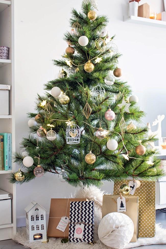 Boho deco chic sorpresa desc rgate gratis nuestras - Arbol de navidad con regalos ...