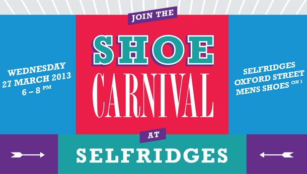 Selfridges Shoe Carnival recommend
