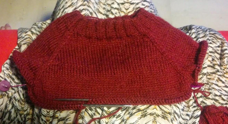 Tricoter un pull aux aiguilles circulaires top down - Tricoter avec une aiguille circulaire ...