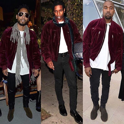 Between Miguel, Asap Rocky and Kanye who killed the fashion