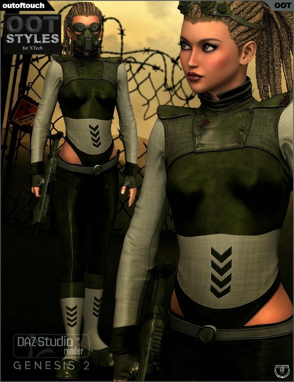 Styles de OOT pour XTech pour Genesis 2 Femme