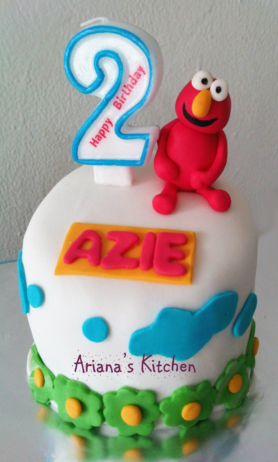 elmo mini cake , for azie