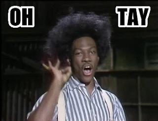 Eddie Murphy SNL Little Rascals Buckwheat OHTAY Oh Tay O Tay OTAY