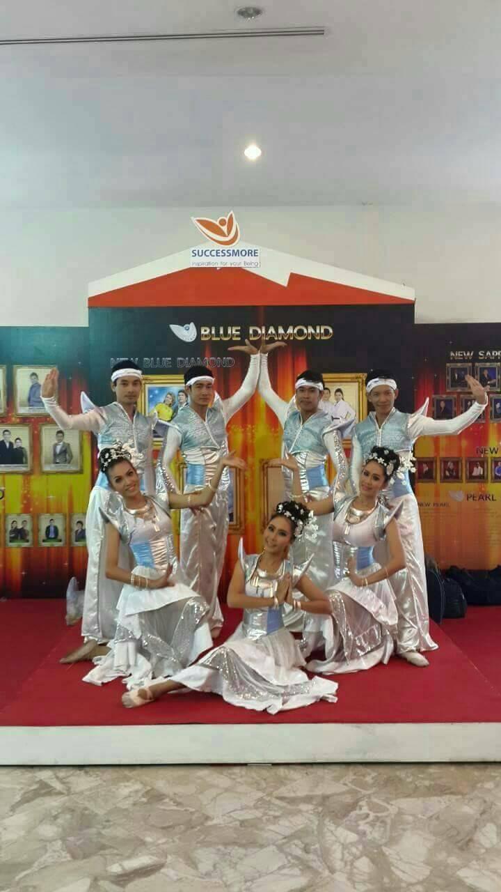 การแสดงไทยโมเดลหรือจินตลีลา
