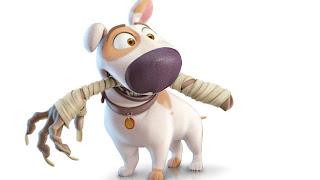 dibujo de Jeff el perro de tadeo Jones