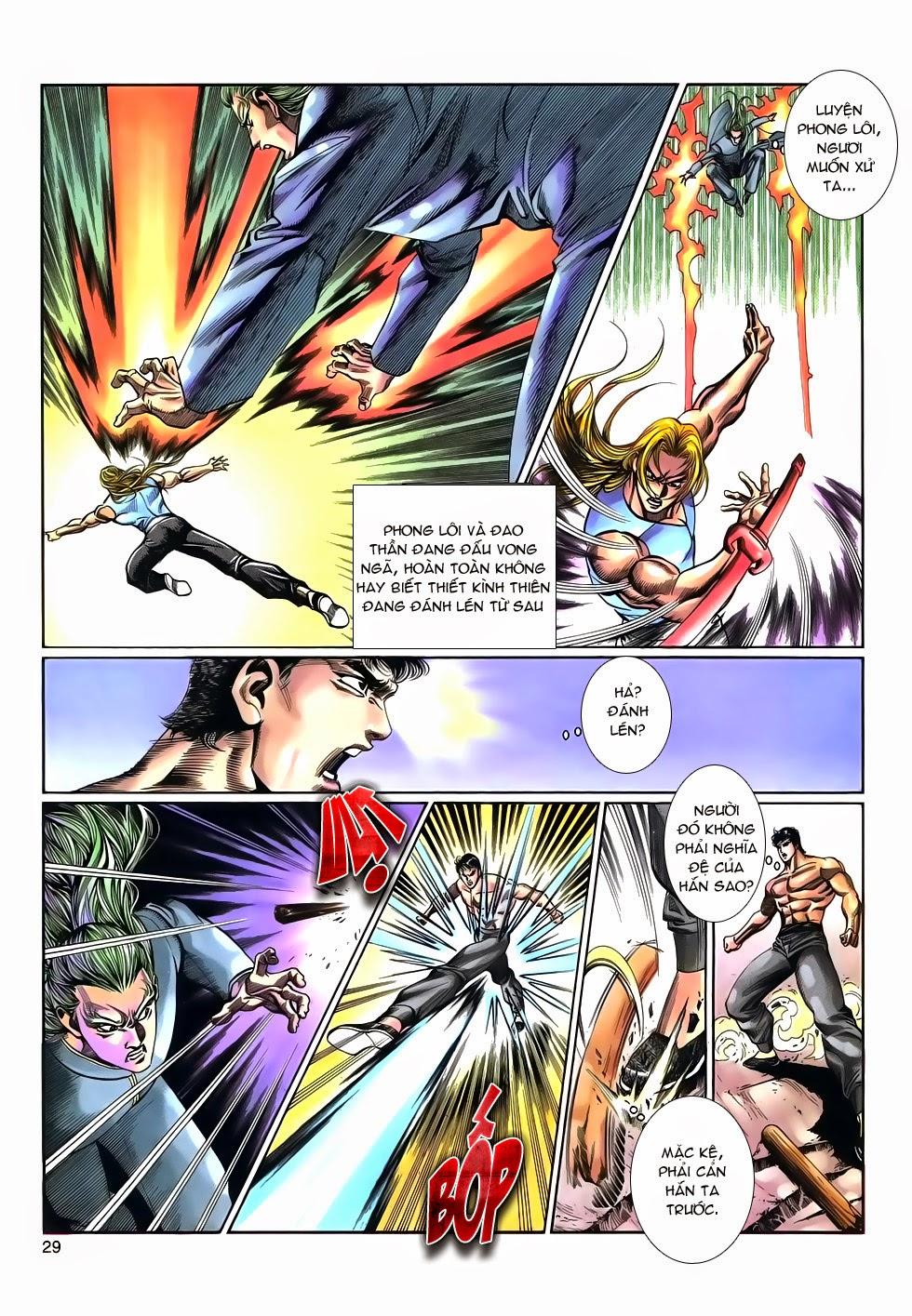 Long Hổ Phong Bạo chap 9 - Trang 29