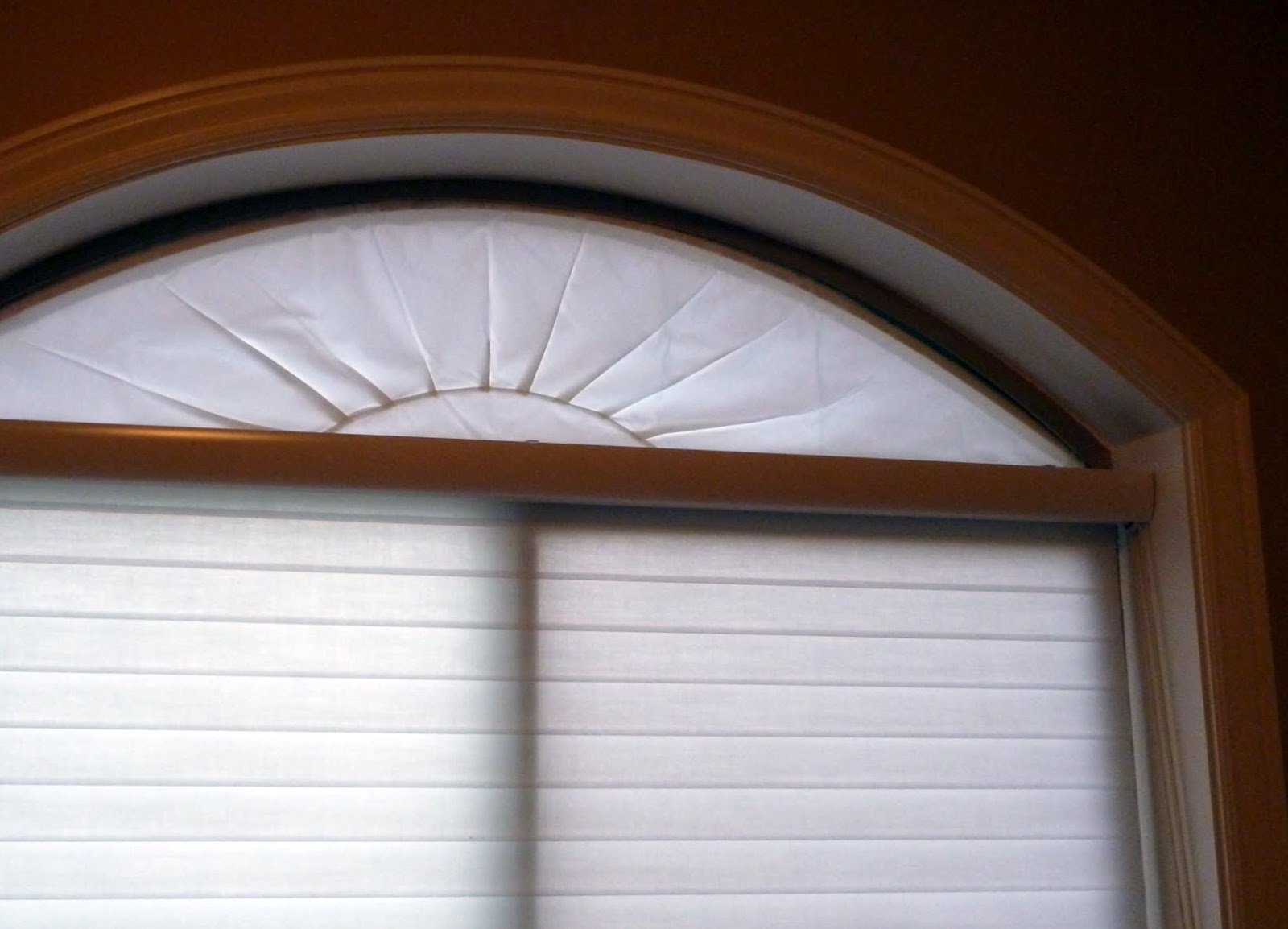 Semi Circle Window Curtain Out the small half circle,