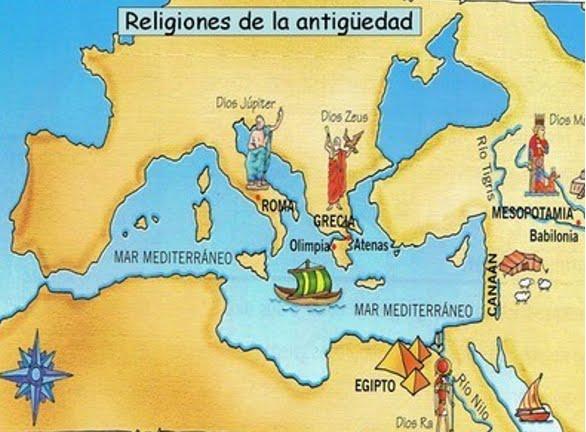 historia de las religion: