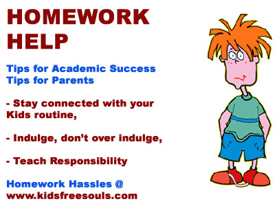 Hints and Tips - Homework Help for Parents : Homework Help for Parents