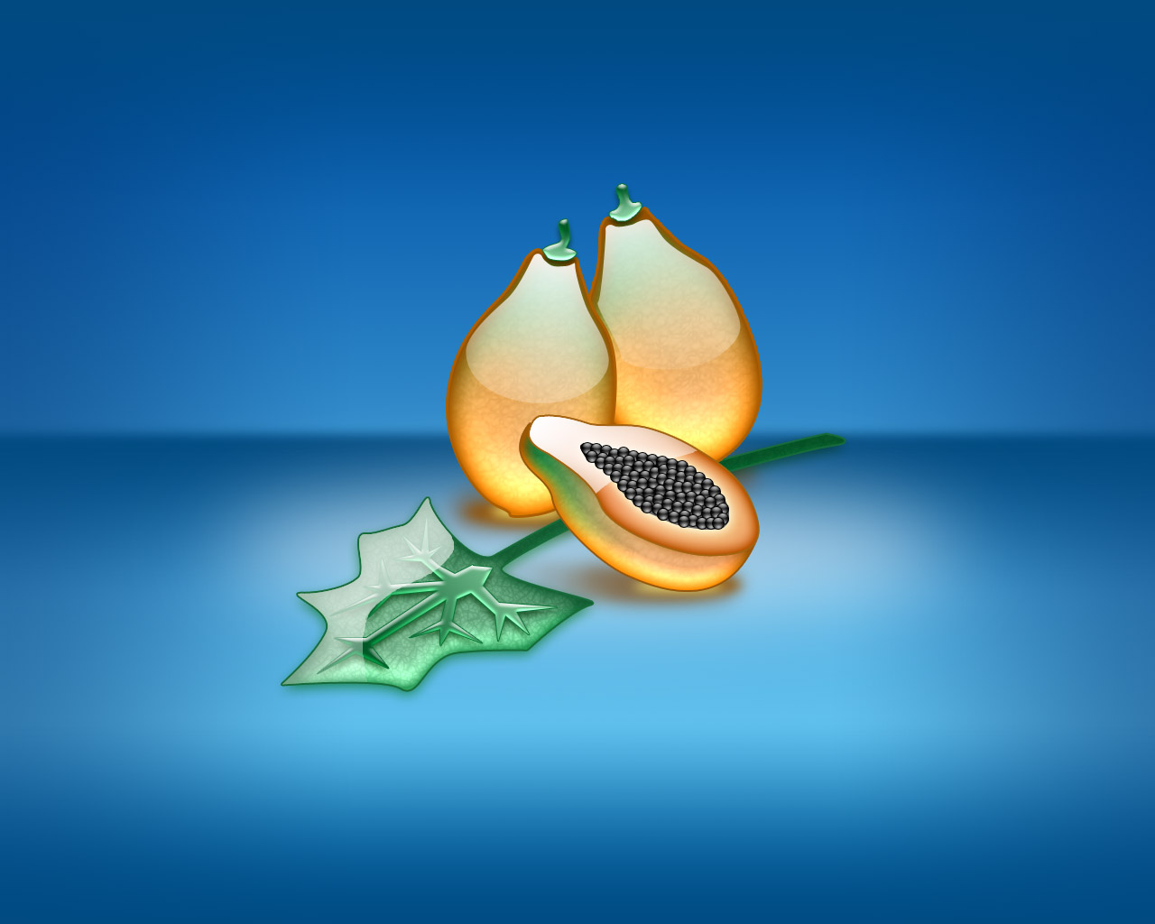 strictly wallpaper aqua wallpapers papaya