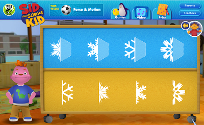 http://pbskids.org/sid/fablab_snowflakematch.html
