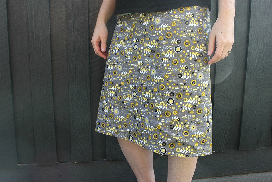 A-line Reversible Skirt - Sew Delicious