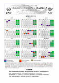 Calendario laboral construccin Madrid 2013