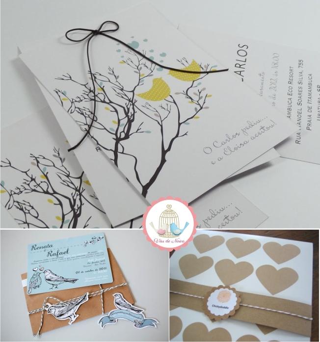Identidade Visual e Convites para Noivado