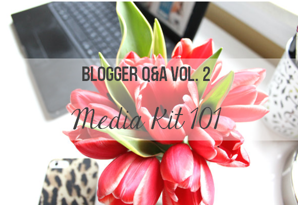 media kit 101, things every media kit should have, blogging media kit tips,