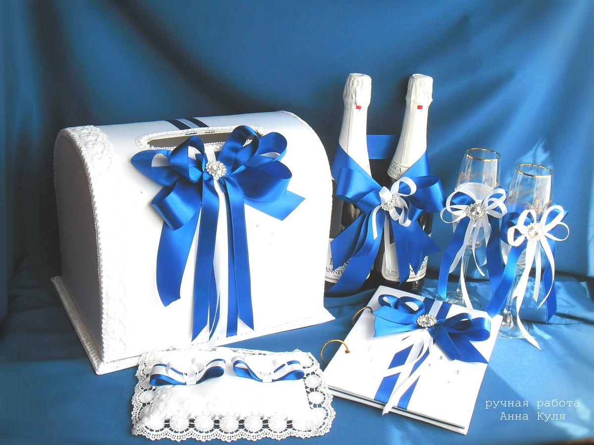 Синие свадебные платья фото невест в нарядах бело-синего 61